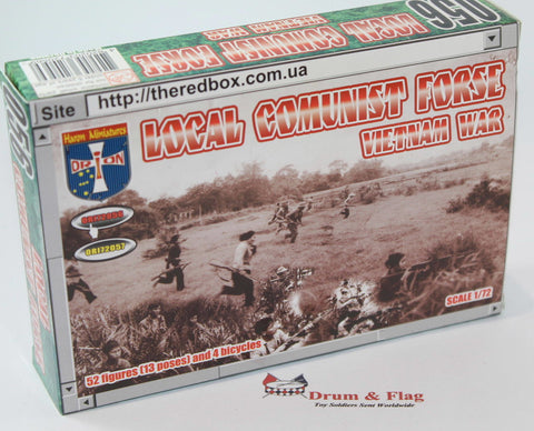 Orion 72056 - Local Communist Force. Vietnam War. 1/72 Scale Plastic Figures