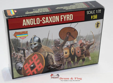 STRELETS M 140.  ANGLO-SAXON FYRD. 1/72 SCALE.