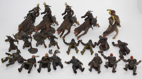 ORC LOT. LORD OF THE RINGS AOME (ARMIES OF MIDDLE EARTH). Used.