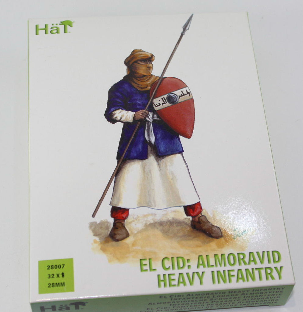 HAT 28007. EL CID: ALMORAVID HEAVY INFANTRY. 28mm