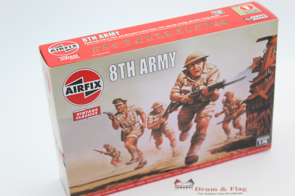 AIRFIX #709 WW2 8th ARMY BRITISH INFANTRY. 1/76 Scale