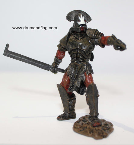 Uruk-Hai Captain. LORD OF THE RINGS AOME (ARMIES OF MIDDLE EARTH). Used.