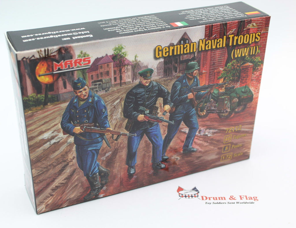 Mars 72112 WW2 German Naval Troops. 1/72 scale