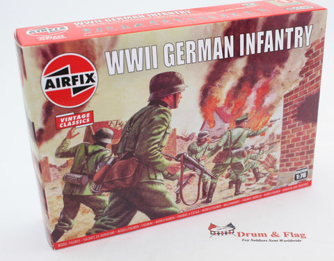 AIRFIX #705 WW2 GERMAN INFANTRY. 1/76 Scale Germans.