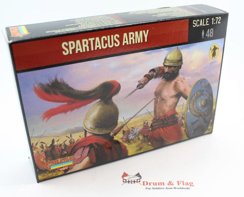 Strelets Set M 77 - Spartacus Army - 1/72 Scale Plastic Figures