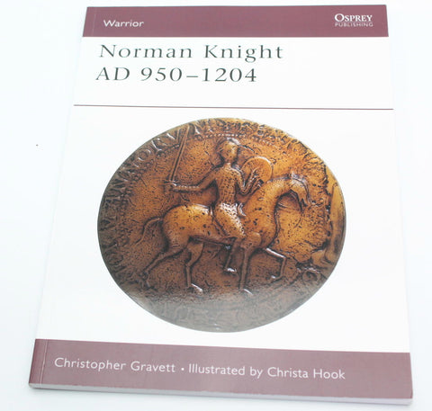 NORMAN KNIGHT 950-1204 AD. OSPREY WARRIOR SERIES. GRAVETT