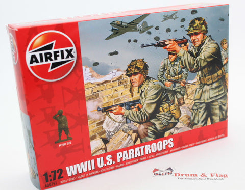 AIRFIX #751 WW2 U.S. Paratroops. 1/72 Scale Americans