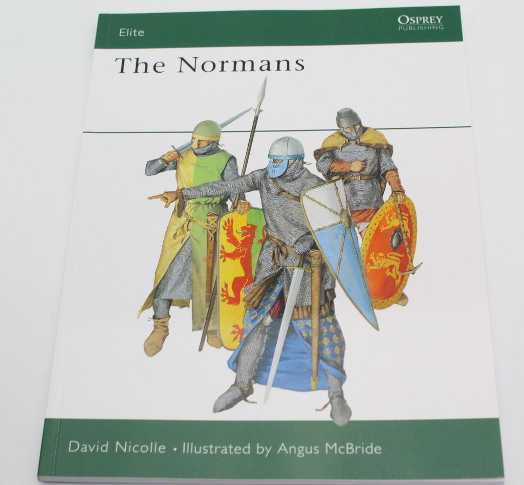 THE NORMANS. OSPREY WARRIOR SERIES. NICOLLE