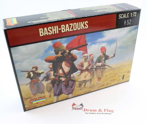 Strelets Set M 54 - Foot Bashi-Bazouk - Russo-Turkish War. 1/72 Scale Plastic Figures
