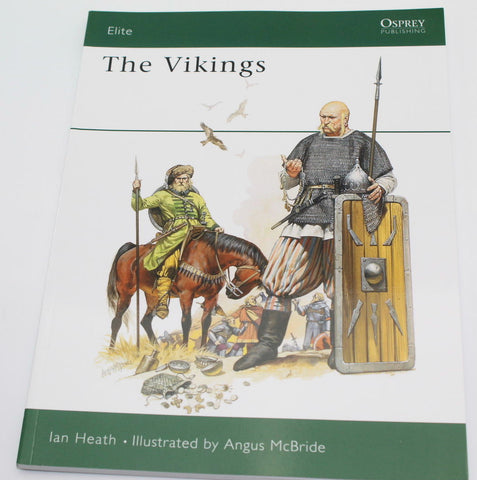 THE VIKINGS. OSPREY WARRIOR SERIES. HEATH