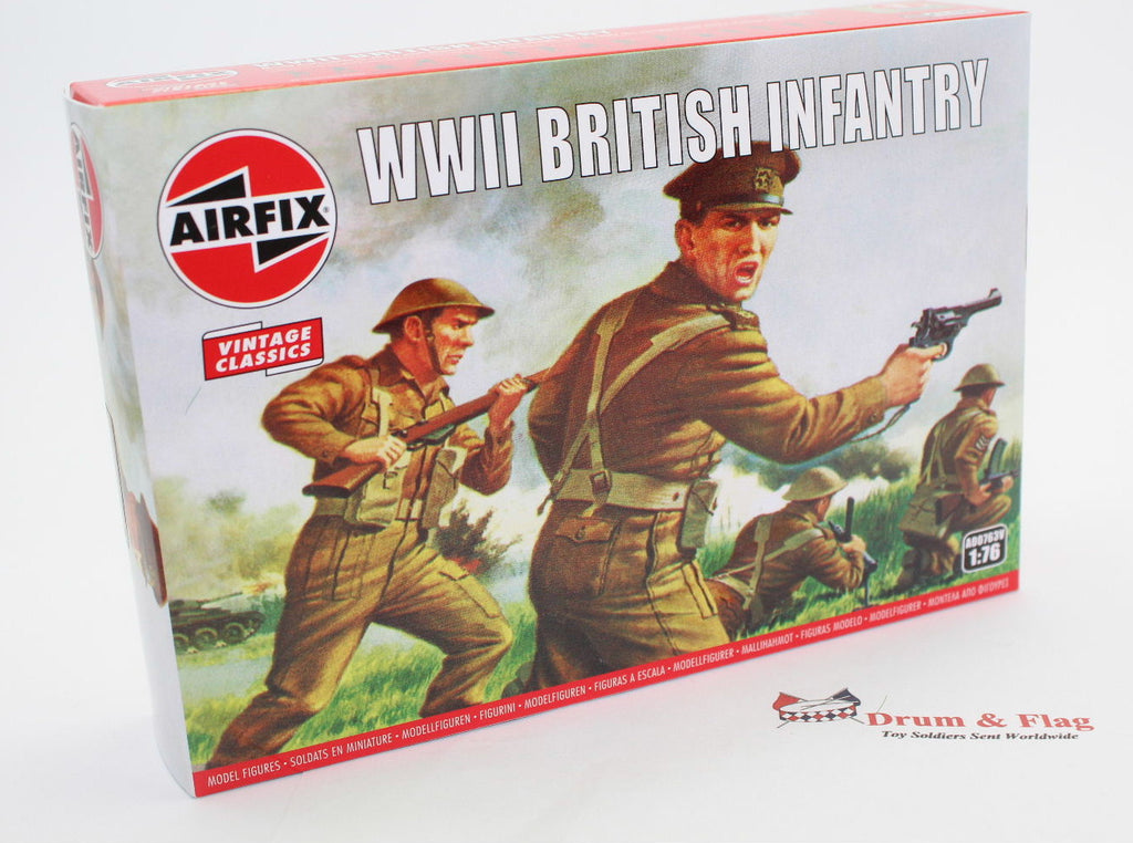 AIRFIX #763 WW2 BRITISH INFANTRY. 1/76 Scale