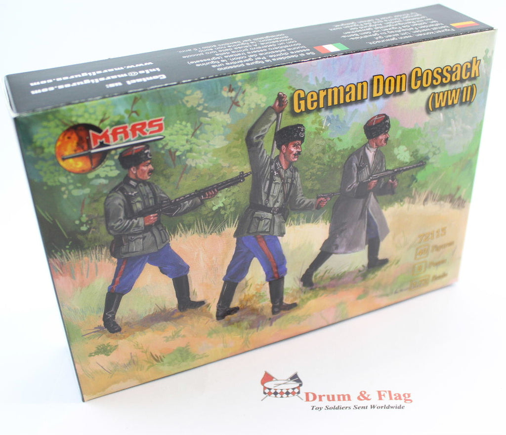 Mars 72113 German Don Cossacks WWII. 1/72 scale plastic figures