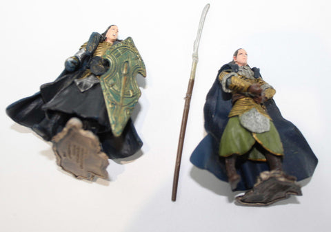 Elrond & Gil-Galad. LORD OF THE RINGS AOME (ARMIES OF MIDDLE EARTH). Used.