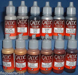 VALLEJO GAME COLOR PAINT - ANY 40 OF YOUR CHOICE - WATER BASED ACRYLIC PAINTS