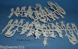 STRELETS M 95 WW2 POLISH PEOPLE'S ARMY 1/72 SCALE UNPAINTED PLASTIC FIGURES