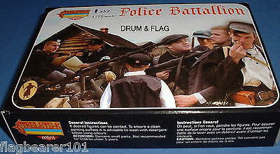 STRELETS M 86 WW2 POLICE BATTALLION - GERMAN AUXILIARY  - 1/72 SCALE PLASTIC