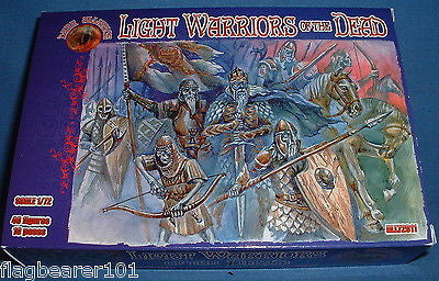 DARK ALLIANCE set #72011 - LIGHT WARRIORS OF THE DEAD . 1/72 SCALE