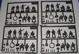 HAT 8258 WW1 AUSTRIAN ARTILLERY CREW X 32 FIGURES IN 8 POSES 1/72 SCALE x