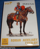 HAT 8066 ROMAN AUXILIARY CAVALRY. 12 X 1/72 SCALE UNPAINTED PLASTIC FIGS
