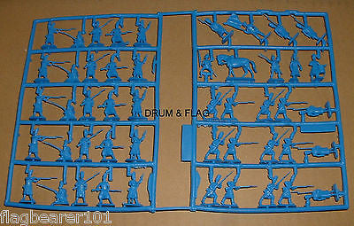 REVELL 02570 FRENCH IMPERIAL GUARD GRENADIERS. NO BOX.  1/72 SCALE 48 FIGURES.