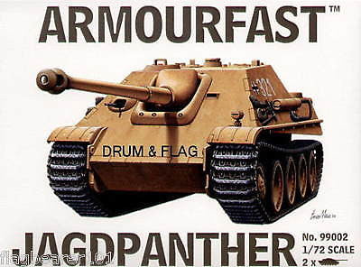 ARMOURFAST 99002. JAGDPANTHER TANK DESTROYER. 1/72 SCALE