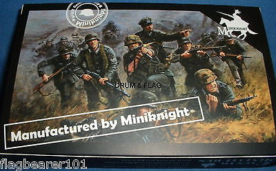 CAESAR HB07 - WW2 GERMAN ARMY - 1/72 SCALE PLASTIC