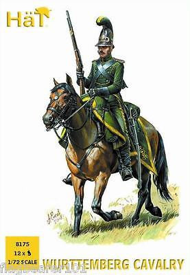 HAT 8175 WURTTEMBERG CAVALRY. NAPOLEONIC WARS. 1/72 SCALE PLASTIC FIGURES.