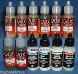 VALLEJO GAME COLOR PAINT - ANY 50 OF YOUR CHOICE - WATER BASED ACRYLIC PAINTS