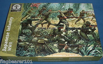 WATERLOO 1815 AP022 WW2 JAPANESE INFANTRY. 1/72 SCALE WWII PACIFIC THEATRE