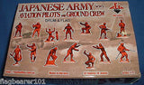 REDBOX 72052 WW2 JAPANESE ARMY AVIATION PILOTS & GROUND CREW. 1/72 SCALE