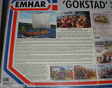 EMHAR 9001 GOKSTAD VIKING SHIP 9th Century - 1/72 SCALE PLASTIC KIT dns