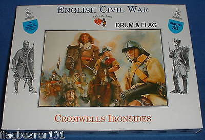 A CALL TO ARMS #33 - CROMWELL'S IRONSIDES 1/32 SCALE. ENGLISH CIVIL WAR CAVALRY
