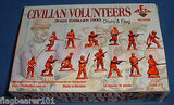 REDBOX 72028 CIVILIAN VOLUNTEERS BOXER REBELLION 1900. 1/72 SCALE