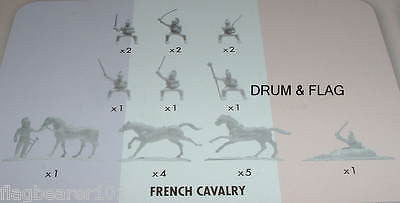 NAPOLEONIC FRENCH CAVALRY CUIRASSIERS. AIRFIX BATTLE OF WATERLOO. 1/72 SCALE