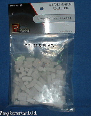 PEGASUS 5196 - GRAY GREY BRICKS - LARGE - 50g BAG
