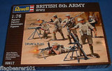 REVELL 02617 WW2 BRITISH 8th ARMY. WWII Plastic. 1/76 Scale. Ex - Matchbox