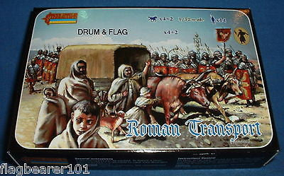 STRELETS 116 ROMAN TRANSPORT 1/72 SCALE UNPAINTED PLASTIC