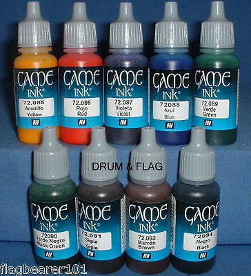Vallejo Game Color Specialist Colours X 45 Water Based Acrylic