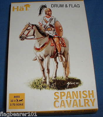 HAT 8055 SPANISH CAVALRY. PUNIC WARS - CARTHAGINIANS. 1/72 SCALE.