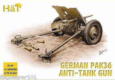 HAT 8149 WW2 GERMAN PAK 36 37mm