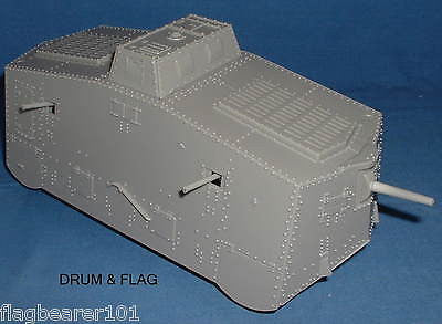 WESTON TOY CO. A7V GERMAN TANK. WW1 1/35 - 1/32 SCALE. WWI PANZER MODEL.
