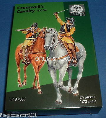 WATERLOO 1815 AP033 CROMWELL'S CAVALRY. ENGLISH CIVIL WAR. ROUNDHEADS 1/72 SCALE