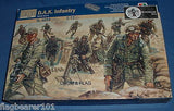 ITALERI 6099 (WLOO1815) WW2 GERMAN D.A.K. INFANTRY - 1:72 SCALE PLASTIC