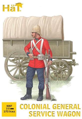 HaT 8287 Colonial General Service Wagon - 1/72 scale. Zulu War