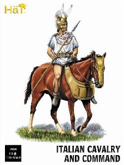 HAT 9054 - ITALIAN ALLIED CAVALRY & COMMAND - 1/32 SCALE PLASTIC - PUNIC WARS.