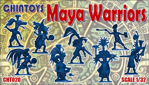 CHINTOYS cht020 MAYA WARRIORS 1/32 SCALE
