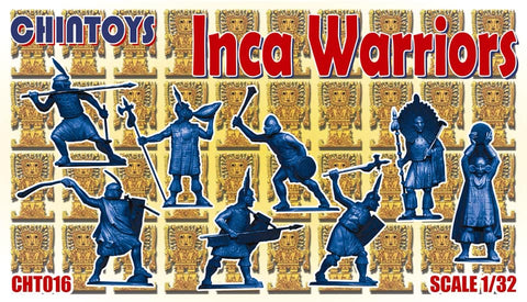 CHINTOYS cht016 INCA WARRIORS 1/32 SCALE