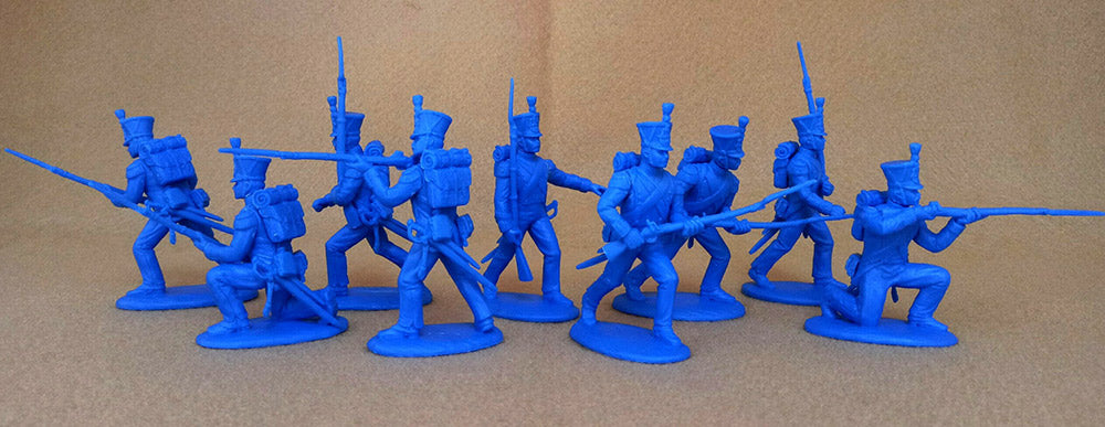 Expeditionary Force FRN02 - Grenadiers & Voltigeurs - Napoleonic - 54mm 1/32 Scale