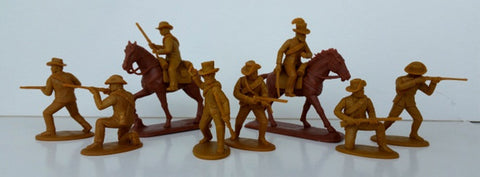Expeditionary Force ZBR05 - Natal / Boer Volunteers Foot & Mounted - Zulu War - 54mm 1/32 Scale