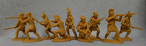 Expeditionary Force 54 AMR03 - Woodland Indians (Tecumseh's) - War of 1812 54mm 1/32 Scale